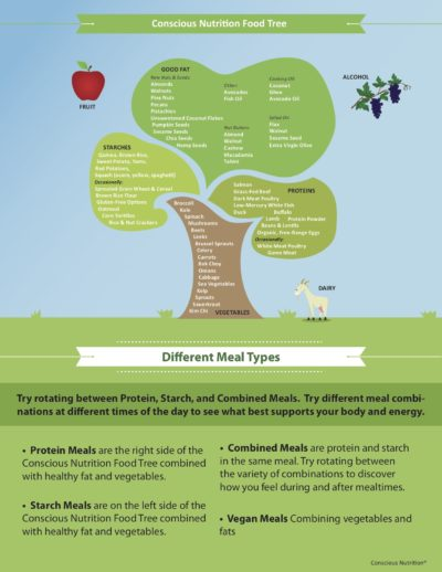 An ode to the Conscious Nutrition Food Tree