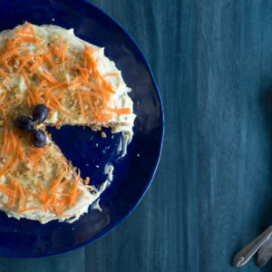Gluten Free Carrot Cake ... That Counts As A Vegetable!