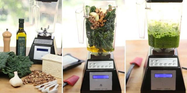 Conscious Nutrition Making Pesto
