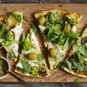 New York Pesto Pizza Recipe