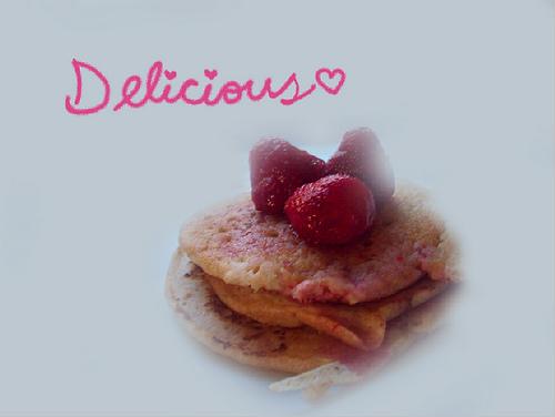 Heather's Healthy Pancake