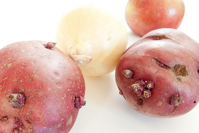 Potatoes wanted me to tell you something…
