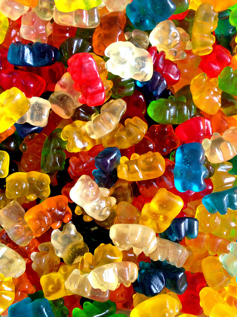What do gummy bears and carrot juice have in common?