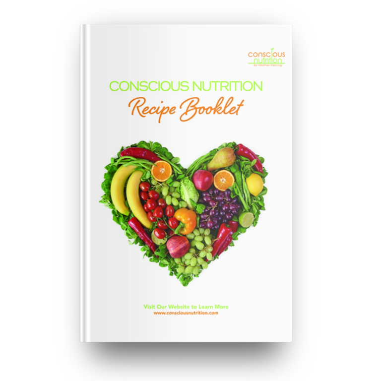 Conscious Nutrition Recipe Booklet