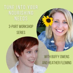 Feel. Meal. Heal Workshop series